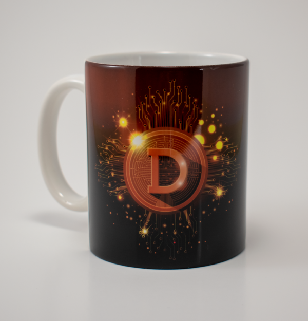 decaloutlaw dogecoin doge coffee cup